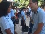 Comienzan sus clases nuevos Preuniversitarios Urbanos en Ciego de Avila
