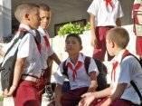 Inicia el curso escolar en Cuba