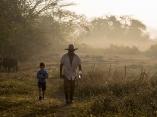 Amanecer en el campo.Foto: Ismael Francisco/ Cubadebate