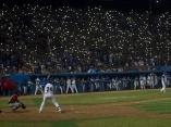 El latino, como en sus mejores tiempos, toda una fiesta de Beisbol.Foto:Ismael Francisco/ Cubadebate.