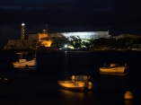 Fondeadero de botes en el canal de entrada de la bahía. Foto: Abel Padrón Padilla/Cubadebate