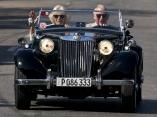 APTOPIX Cuba Britain Royals