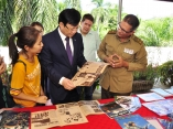 Delegacion vietnamita visita Verde Olivo