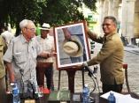 Presentacion de la Revista Homenaje Verde Olivo a Carlos Manuel de Cespedes por el Dr. Eusebio Leal.