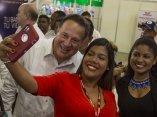 Presidente de Panama  Juan Carlos Varela en Feria de la Habana. Foto: Ismael Francisco/ Cubadebate.