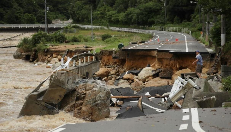 Aumentaron a 156 los muertos por las torrenciales lluvias — Japón