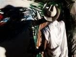 Choco. Mural por la paz, de la Brigada Martha Machado en el Malecón de La Habana