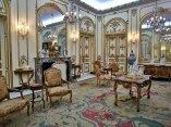 Salón Principal, su decoración se inspira en el estilo francés Luis XV o Rococó, del  siglo XVIII. Foto: Irene Pérez/ Cubadebate.