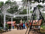 Bulevar del complejo turístico La Giraldilla. Foto: Abel Padrón Padilla/Cubadebate