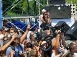 """Juanes y sus invitados ensayaron esta tarde en la Plaza de la Revolución """"José Martí"""""""