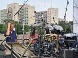 """Todo listo en la Plaza de la Revolución """"José Martí"""" para el concierto Paz sin Fronteras (Foto Jorge Legañoa)"""
