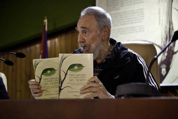 """Fidel presenta sus memorias: """"El deber nuestro es luchar hasta el último minuto"""" Fidel-guerrillero-del-tiempo-5"""