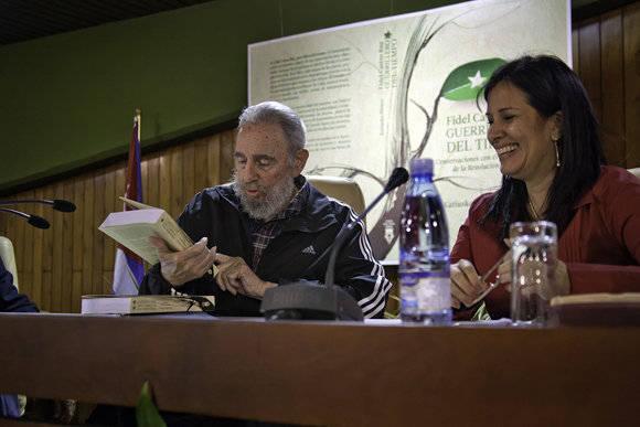 Book on Fidel Castro in Dominican Republic