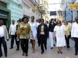 SANTIAGO DE CUBA-VISITA PRIMERA MINISTRA DE NAMIBIA