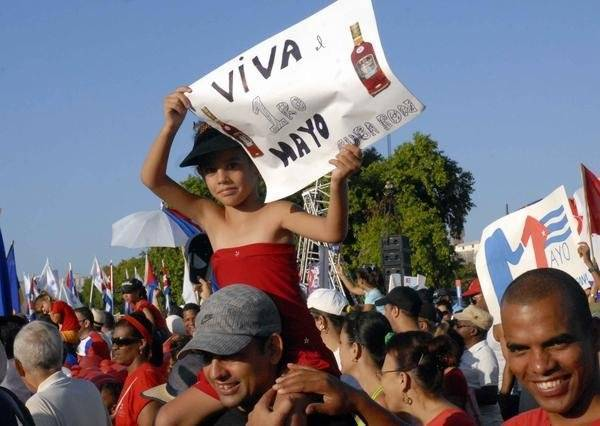 Primero de Mayo, Cuba, 2011. Foto tomada de Cubadebate
