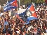 CUBA-LA HABANA-DESFILE PRIMERO DE MAYO