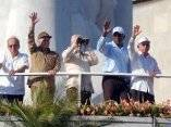 CUBA-LA HABANA-RAUL CASTRO-DESFILE PRIMERO DE MAYO