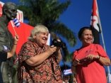 CUBA-SANCTI SPÍRITUS-MAYO DE PUEBLO UNIDO POR LA VICTORIA