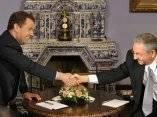 Dmitri Medvédev y Raúl Castro hoy en Moscú. Foto: Ria Novosti
