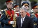 Raul Castro en Rusia