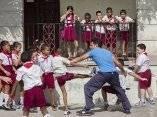 Momentos del rodaje de la pelicula Esteban. Foto: Ismael Francisco/Cubadebate.