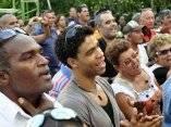 Concierto de Silvio Rodríguez en el barrio Santa María del Rosario, en La Habana.g