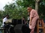 Concierto de Silvio Rodríguez en el barrio Santa María del Rosario, en La Habana.
