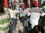 Haití, seis días después del terremoto. Fotos: Boston Globe