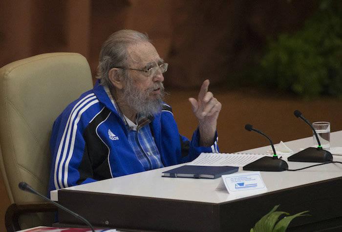 Выступление на VII съезде Коммунистической партии Кубы