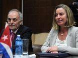 CUBA-LA HABANA-RECIBE RODRIGO MALMIERCA A ALTA REPRESENTANTE DE