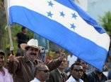 Manuel Zelaya en Honduras, amplia manifestación el pueblo apoya su regreso