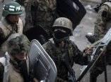 Brutal represión en Honduras ante presencia del presidente constitucional Manuel Zelay
