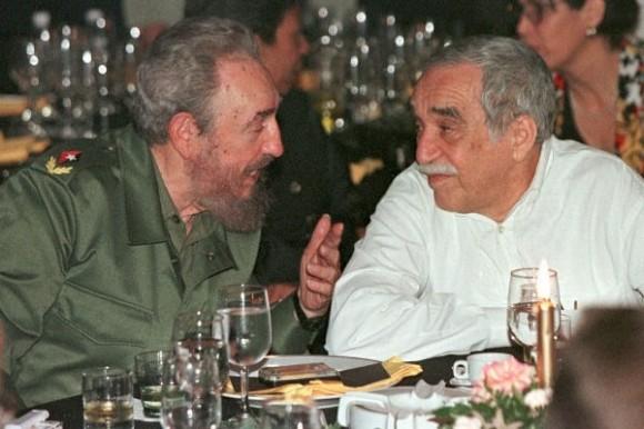 Fidel Castro y García Marquez. Foto Archivo