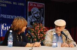 Magda Resik y Roberto Fernández Retamar