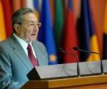 Raul Castro. Reunion de Ministros MNOAL