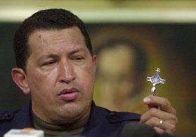 Las líneas de Chávez: ¡Cruz de Mayo, Cruz de Cristo!