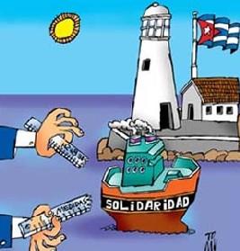 Solidaridad: camino de doble sentido para Cuba
