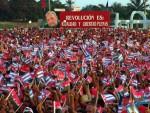 Acto por el  26 en la Plaza de la Patria en Bayamo Conla presencia del Comandante en JEFE Fidel Castro Ruz 26-07-06 (Foto José M. Corea)