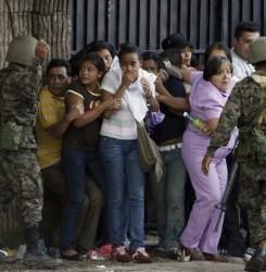 Honduras: 25 heridos y 88 detenidos en protestas