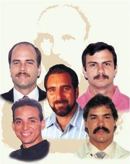 los cinco heroes