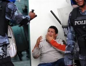 represion honduras golpe de estado
