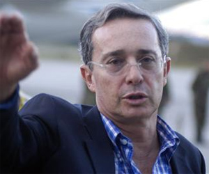 Alvaro Uribe, ex- Presidente de Colombia