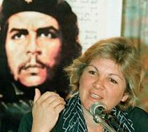Recibe Presidente argelino a Aleida Guevara March
