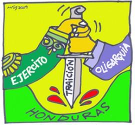 Ejército y Oligarquia, traición a Honduras