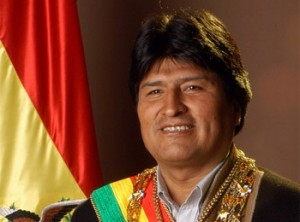 Evo Morales Aima, Presidente de Bolivia