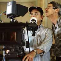 Fernando Pérez, en un momento de la filmación de su nueva película sobre José Martí.