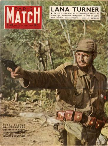 [FIDEL CASTRO LE MAQUISARD. Robin des Bois dans la Sierra, Fidel Castro a lancé un ultimatum au président cubain Batista. Le combat des desperados a comencé dans La Havane à feu et à sang. Foto: Enrique Meneses]