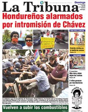 la-tribuna-hondurenos-alarmados-por-intromision-de-chavez