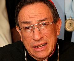 Cardenal Oscar Andrés Rodríguez Maradiaga