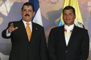 HONDURAS-ECUADOR/
